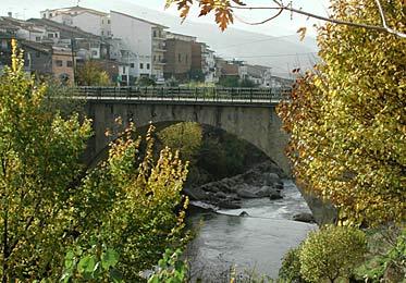 Río Jerte a su paso por Cabezuela del Valle