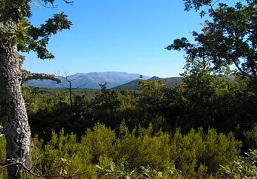 Sierra de Tormantos, al fondo Traslasierra