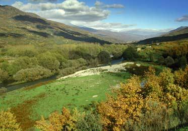 Vista panorámica del Valle del Jerte
