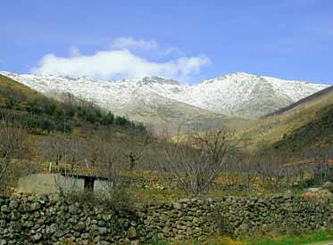 Traslasierra, al otro lado el Valle del Ambroz